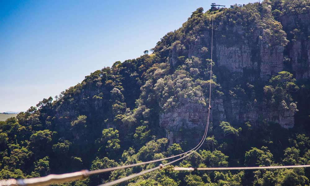 Longest zipline Oribi Gorge-Albatross Guesthouse - Southbroom -South Coast things to Do