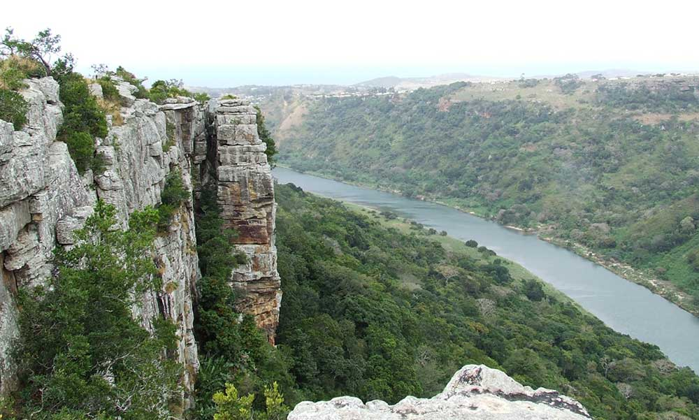 Umtamvuna Gorge and Estuary. Oribi Gorge-Albatross Guesthouse - Southbroom -South Coast things to Do